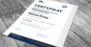 Certyfikat ubezpieczebnia